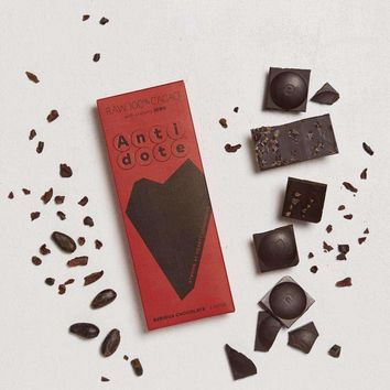 Antidote Chocolate - Raw 100% Bars Tona with Nibs