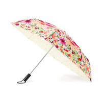 off we go dahlia travel umbrella