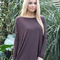 Piko Top In Brown