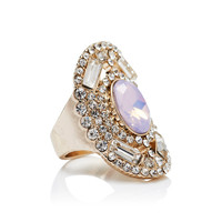 Charlotte Stone Feature Sized Ring - Forever New
