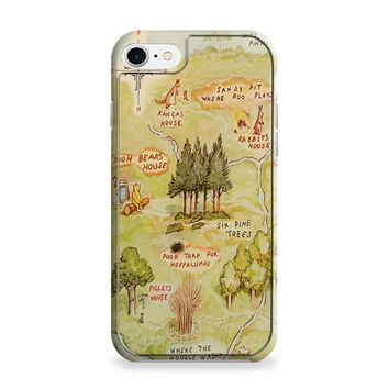 Winnie the Pooh Hundred Acre Woods Map iPhone 6 | iPhone 6S Case