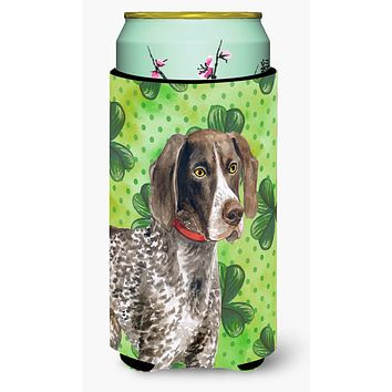 German Shorthaired Pointer St Patrick's Tall Boy Beverage Insulator Hugger BB9815TBC