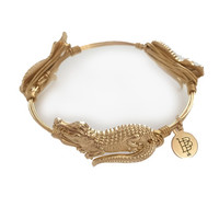 Bourbon & Boweties Florida Gator Bangle - GOLD