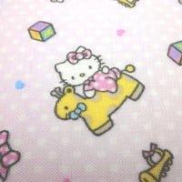 Japanese Double Gauze Sanrio Hello Kitty 1/2 yard
