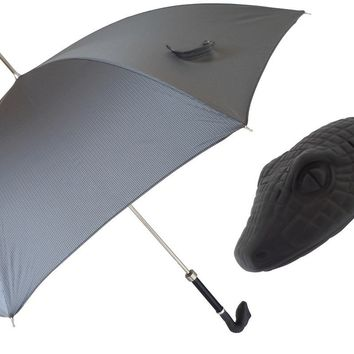 Pasotti Grey Snake Umbrella