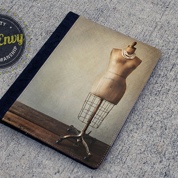 Vintage Dress Form Photo iPad 2/3/4 Folio Case