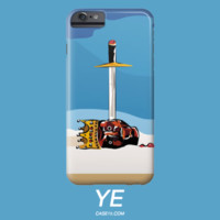 Kanye West Yeezy Illustration IPhone 5 6 6s Plus Galaxy s5 s6 Phone Case - Case15