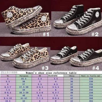 BLING BLING CANVAS SHOES