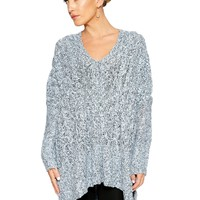 Feelin' Grey-cious Sweater - Tops - Womens