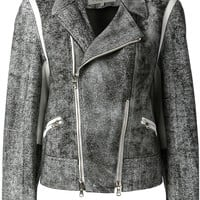 3.1 Phillip Lim Textured Biker Jacket