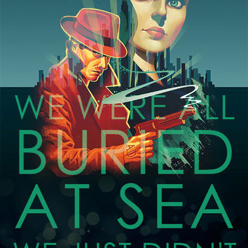 Bioshock Infinite - Burial at sea poster