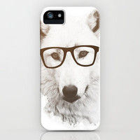 SMART WOLF iPhone Case by Allyson Johnson