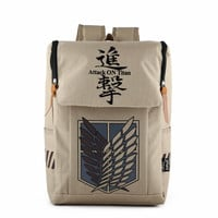 Stylish Comfort Back To School On Sale College Hot Deal Outdoors Nylon Casual Cartoons Anime Backpack [4918758084]