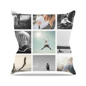 Backdrop Outlet Custom Design Throw Pillow - CUSOPC02