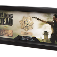 The Walking Dead Sheriff Grimes Badge Prop Replica
