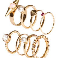8-pack Rings - from H&M