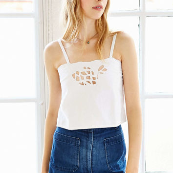 Vintage Tiny Cropped Top - Urban Outfitters