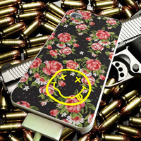 Floral Nirvana for iPhone 4/4s/5/5s/5c/6/6 Plus Case, Samsung Galaxy S3/S4/S5/Note 3/4 Case, iPod 4/5 Case, HtC One M7 M8 and Nexus Case ***