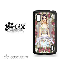 Marina And The Diamonds I Hate Everything For Google Nexus 4 Case Phone Case Gift Present YO