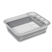 madesmart Collapsible Dish Rack in White