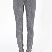 Sec skin grey acid | Jeans | Weekday.com