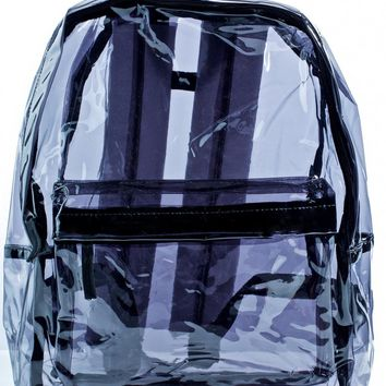 Dark Sunflyer See-Thru Backpack