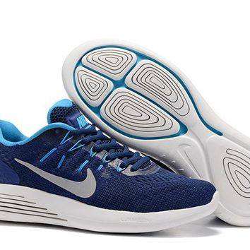 """Nike LunarGlide 8"" Men Sport Casual Sneakers Running Shoes"