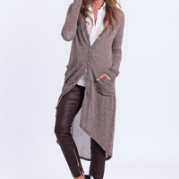 Fall In Line Maxi Cardigan
