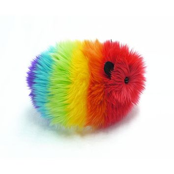 Bow the Rainbow Guinea Pig Stuffed Animal Plush Toy