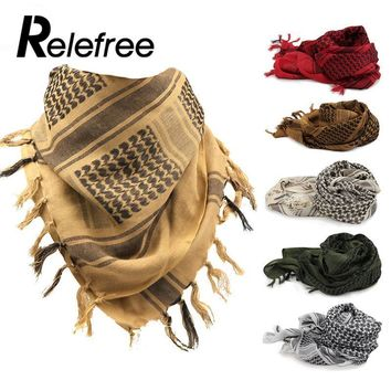 1 pvs Thick Muslim Hijab Shemagh Tactical Desert Arab Scarves Men Women Winter Windy Military Windproof Hiking Scarf