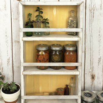 The Mansfield SpIce Rack No. 103 - Wall Mounted or Countertop Spice Rack