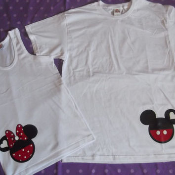 Mickey and Minnie Couples T-Shirt