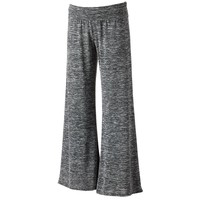 About A Girl Fold-Over Soft Palazzo Pants - Juniors