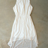 Tucked Lace Dress in White [5782] - $28.80 : Vintage Inspired Clothing & Affordable Dresses, deloom   Modern. Vintage. Crafted.