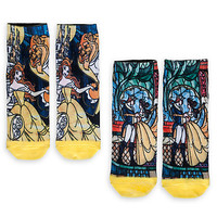 Beauty and the Beast Sock Set for Women - 2-Pack | Disney Store