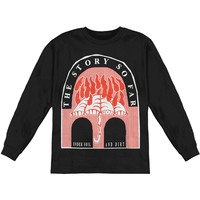 Story So Far Men's  Under Soil & Dirt  Long Sleeve Black Rockabilia