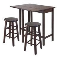 Lynnwood 3 Piece Drop Leaf Island Table