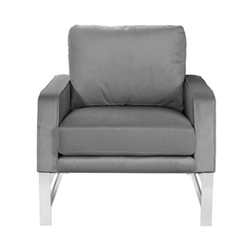 Worlds Away Toby Square Modern Lounge Chair