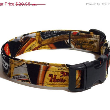 ON SALE Bottles of Tequila Dog Collar