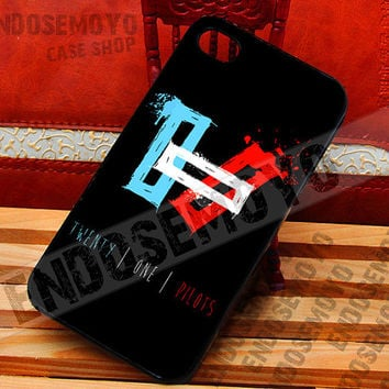 twenty one pilots - iPhone 4/4s/5/5s/5c Case - iPod 4/5 case - Samsung Galaxy S2/S3/S4/S3 mini Case - Black or White