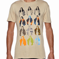 EXCOM T-SHIRT BY ALTAMONT IN TAN