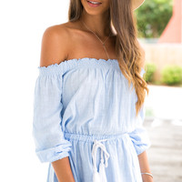Solance Playsuit (baby blue)