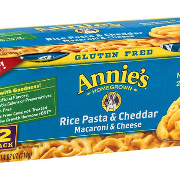 Gluten Free Rice Pasta and Cheddar Macaroni and Cheese Cups - 4.02 oz each