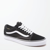 Vans Canvas Old Skool Black and White Shoes at PacSun.com