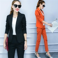 *online exclusive* 2pc blazer and pant suit (available in more colors)