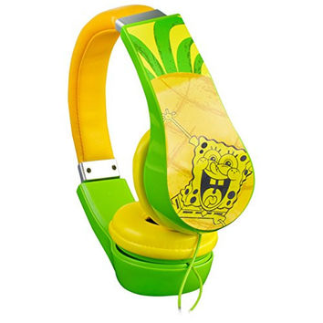Spongebob Squarepants 30362 Kid Safe Over-The-Ear Headphone with Volume Limiter