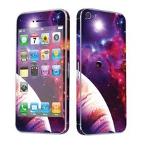 Apple iPhone 5 Full Body Vinyl Decal Protection Sticker Skin Space By Skinguardz:Amazon:Cell Phones & Accessories