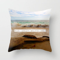 Run Away With Me Throw Pillow by Josrick | Society6