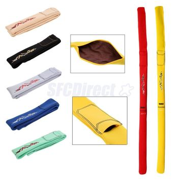 Soft Fishing Rod Sleeve Cover with Towel Fishing Pole Sock Glove Protector Pouch