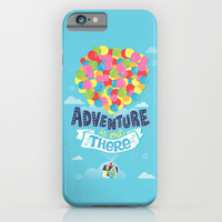 Adventure is out there iPhone & iPod Case by Risa Rodil
